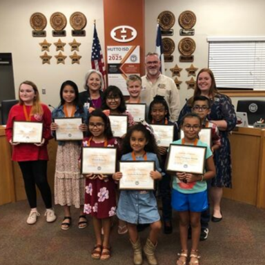 September Hippos and Staff of the Month Recognized at Board Meeting